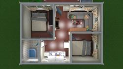 طراحی خانه با اسکچ آپ